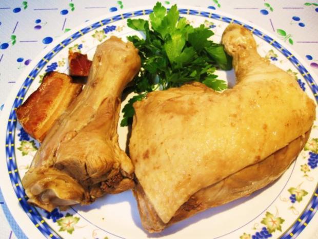 Gemüsesuppe mit Huhn und Lamm ... - Rezept - Bild Nr. 5