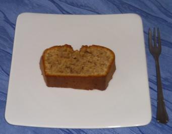 """Kuchen - Nusskuchen """"Spezial"""" (mit Zimt + Nelken verfeinert) - Rezept"""
