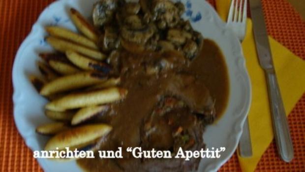 Zwiebel-Apfel Rollbraten - Rezept - Bild Nr. 2