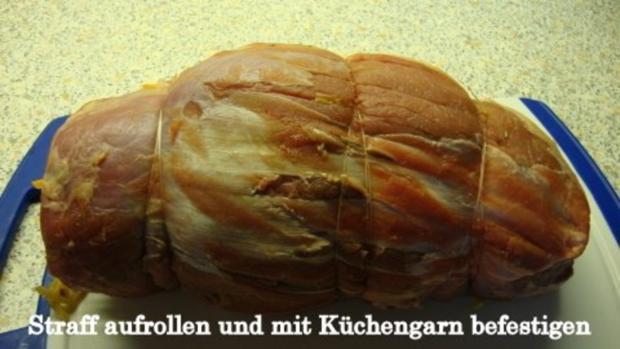 Zwiebel-Apfel Rollbraten - Rezept - Bild Nr. 9