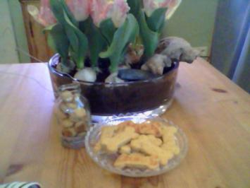 Hunde Cookies - Rezept