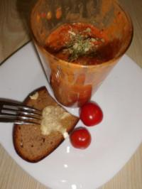 Pesto: Tomaten-Flusskrebsschwärzen-Pesto - Rezept