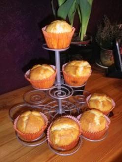 Smarties Muffins - Rezept