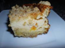 Quark-Streuselkuchen mit Rosinen - Rezept
