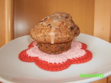 Fluffige Schoko-Bananen Muffins - Rezept