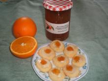 Plätzchen: Orangenplätzchen - Rezept