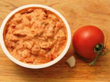 Frischkäsecreme - mediterran - Rezept