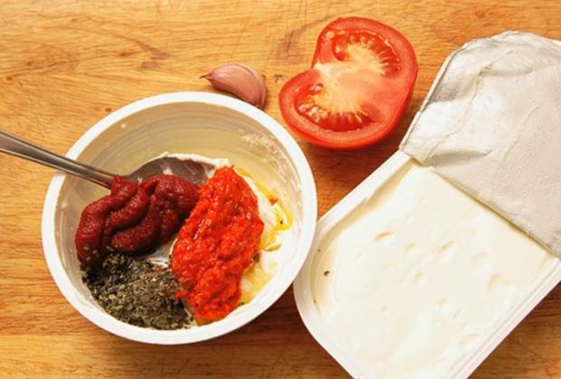 Frischkäsecreme - mediterran - Rezept - Bild Nr. 2