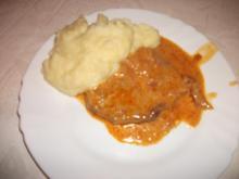 Omas Zwiebelschnitzel - Rezept