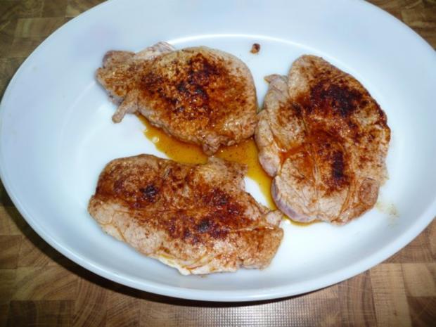 Kammkotelett , Kartoffel - Gratin - Rezept - Bild Nr. 2