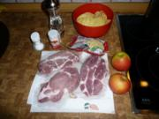 Kammkotelett , Kartoffel - Gratin - Rezept