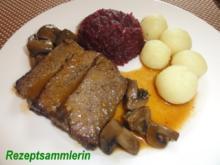 Fleisch:    TAFELSPITZ geschmort - Rezept