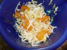 Chicorée-Salat mit Mandarinen - Rezept