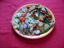 "Bratkartoffeln ""Gärtnerinnen Art"" - Rezept"