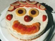 """Käsesahne-Torte """"Clown"""" - Rezept"""