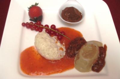 Verspielte Dessertvariation - Rezept