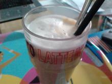 Faschingskaffee mit Drehzahl oder Latte mit Schuss - Rezept