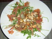 Rucola-Frischkäse-Salat - Rezept
