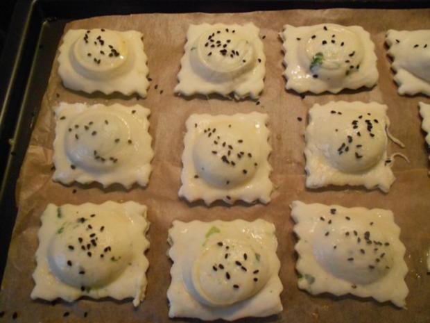 Kleine Hefetaschen mit Spinat und Feta à la Mini-Börek - Rezept - Bild Nr. 31