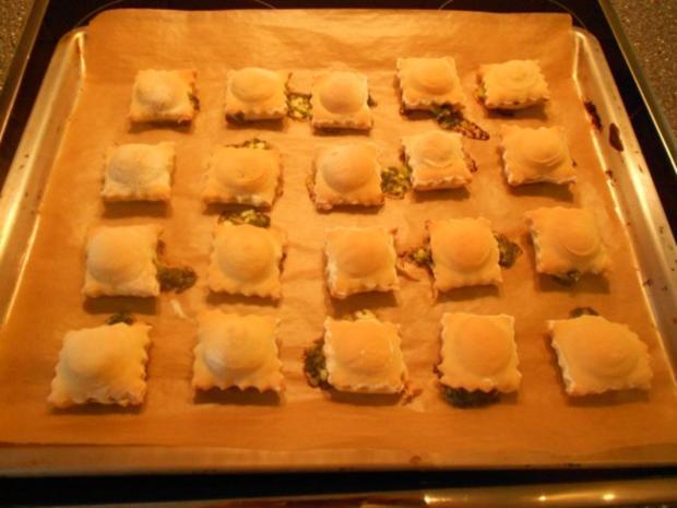 Kleine Hefetaschen mit Spinat und Feta à la Mini-Börek - Rezept - Bild Nr. 32
