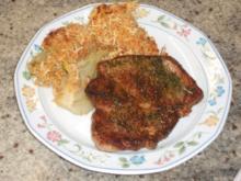 Fleisch: Kräuter-Schweine-Steaks - Rezept