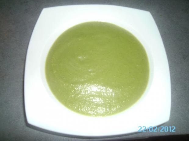 Gemüsecremesuppe - Rezept
