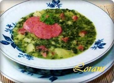 Deftige Grünkohlsuppe - Rezept