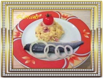 Stampfkartoffeln raffiniert zubereitet - Rezept