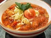 Tomaten - Champignon - Soße - Rezept