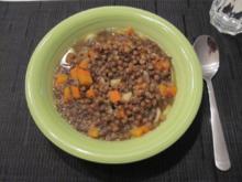 Vegane Linsensuppe - Rezept