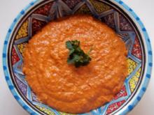 Syrische Mandel-Paprika-Paste - Rezept
