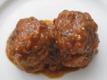 Fleischklößchen in Tomatensauce auf kanarische Art - albóndigas - Rezept