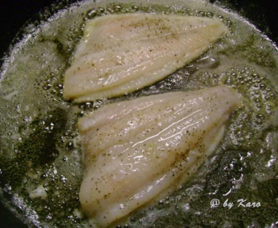 Fisch: Zitroniges Schollenfilet an Petersilien- Zitronen Sauce - Rezept - Bild Nr. 7