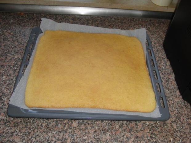 Kirsch-Schmand-Blech-Kuchen - Rezept - Bild Nr. 4