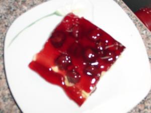 Kirsch-Schmand-Blech-Kuchen - Rezept