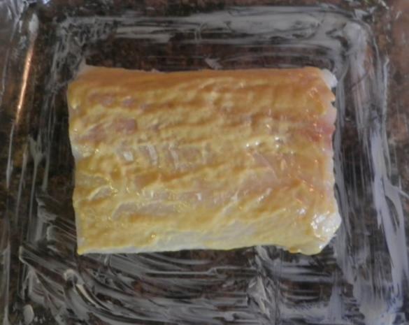 Zugedeckter Fisch mit violetten Kartoffelpüree - Rezept - Bild Nr. 3