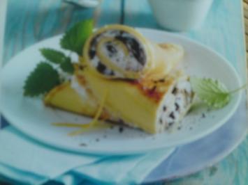 Rezept: Pfannkuchen mit Quarkfüllung