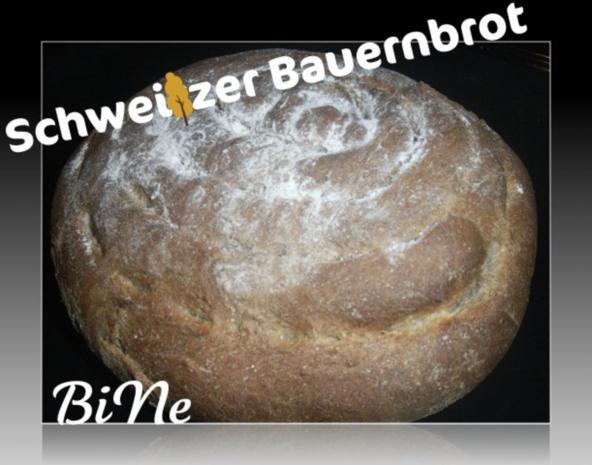 BiNe` S SCHWEIZER BAUERNBROT - Rezept - Bild Nr. 2
