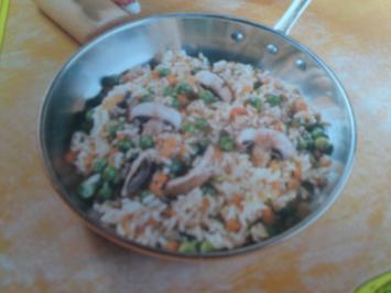 Huhn - Reis - Salat - Rezept