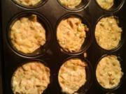 Porree-Schinken-Muffins - Rezept