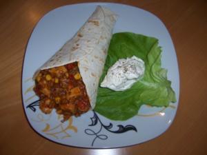 """Mexikanische Wraps """"Chichen Itza"""" - Rezept"""