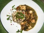 Hähnchen-Pilz-Pfanne - Rezept