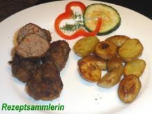 Fleisch:    HACKBÄLLCHEN mediterran - Rezept