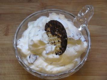 Dessert: Stracciatellacreme - Rezept