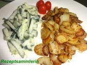 Kartoffel:   BRATKARTOFFELN von Drillingen - Rezept