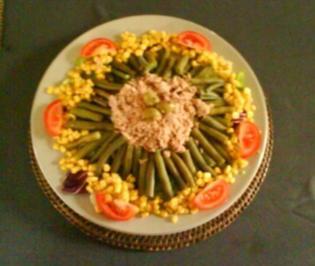 NizzaSalat mit leichtem Mayo-Dressing - Rezept