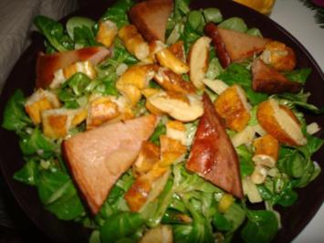 Münchner Salat - nicht ganz so leicht aber lecker! - Rezept