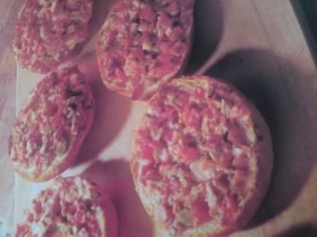 Pizzabrötchen - Kindergeburtstag - Rezept