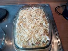 Spirelliauflauf mit viel Käse - Rezept