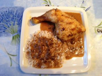 Hähnchen mit Sherrybackpflaumen - Rezept